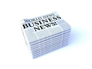 Newspaper Headline: Business News